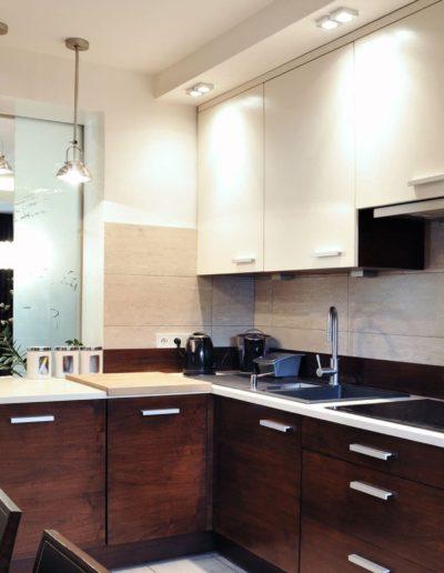 16-5 Format Design, architekt wnętrz Poznań, projekt domu, projekt kuchni, kuchnia, drzwi przesuwane