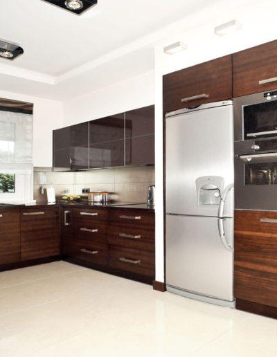 18-6 Format Design, projektant wnętrz Poznań, projekt domu w Poznaniu, kuchnia, projekt kuchni, szafki kuchenne